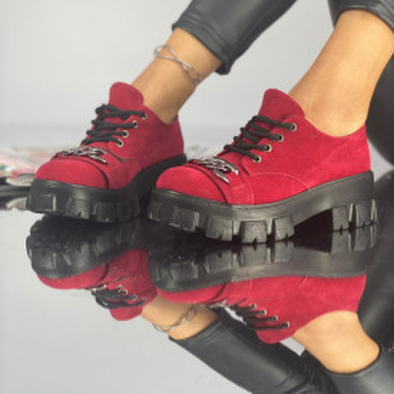 Pantofi Dama Casual Lira Rosii