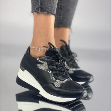 Pantofi Dama Casual Loseta Negri