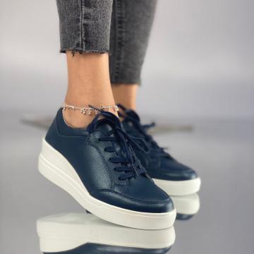 Pantofi Dama Casual Semus Bleumarin