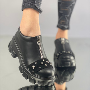 Pantofi Dama Casual Valina Negri