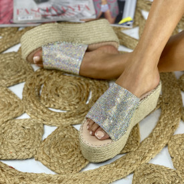 Papuci cu Platforma Sokra Colour