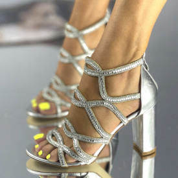 Sandale Lores Argintii