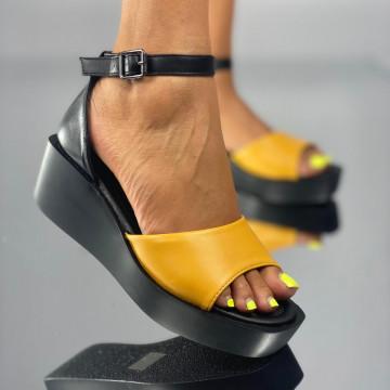 Sandale Nubira Galbene