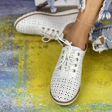 Pantofi Casual Dora Albi