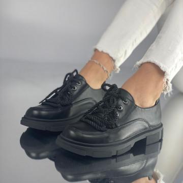 Pantofi Dama Casual Crevis Negri