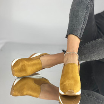 Pantofi Dama Casual Mareta Galbeni