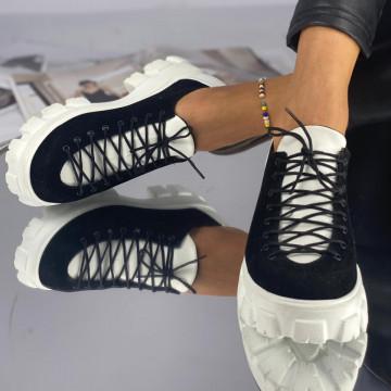 Pantofi Dama Casual Mila Negri Albi