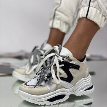 Pantofi Sport Dama Abo Gri