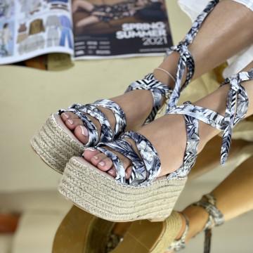 Sandale Cu platforma Antones Negre