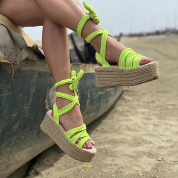 Sandale Cu platforma Antones Verzi