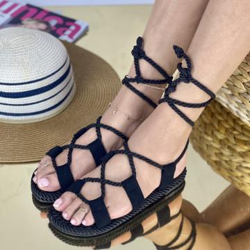 Sandale Kiros Negre