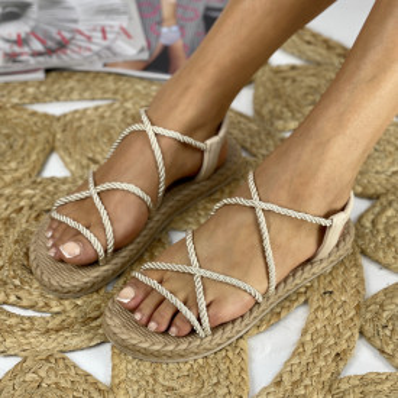Sandale Zika Bej