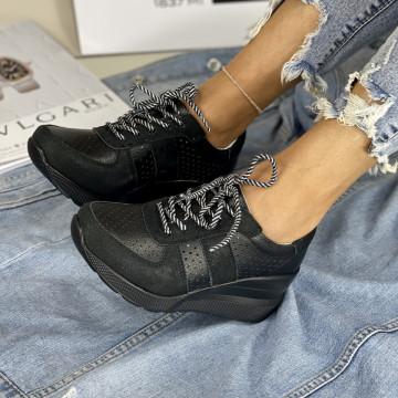Pantofi Casual Bemos Negri