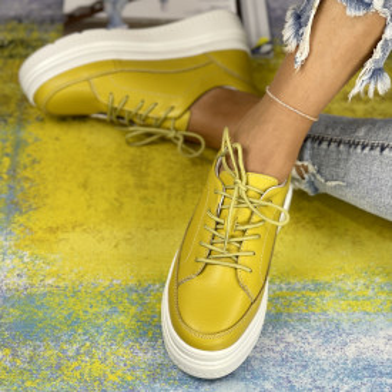 Pantofi Casual Misa Mustar