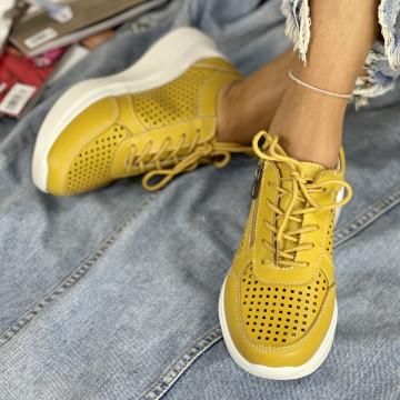 Pantofi Casual Sedra Galbeni