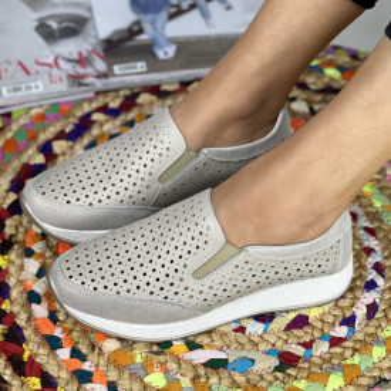 Pantofi Casual Zori Bej