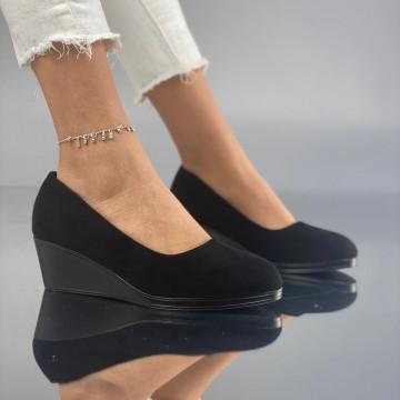 Pantofi cu Platforma Mamia Negri