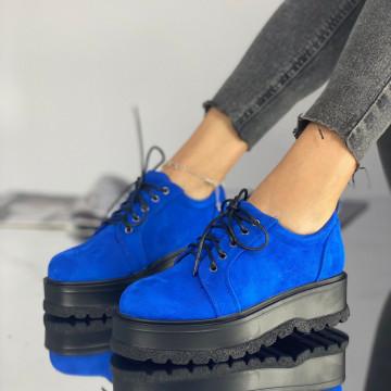 Pantofi Dama Casual Simi Albastri