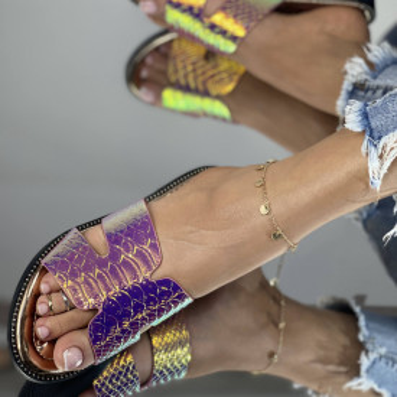 Papuci Camos Roz