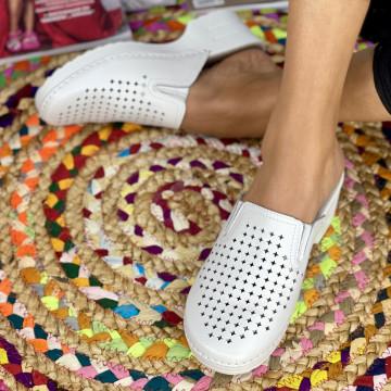 Papuci Dama Codrina Albi
