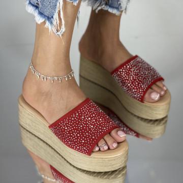 Papuci Kalito Rosii