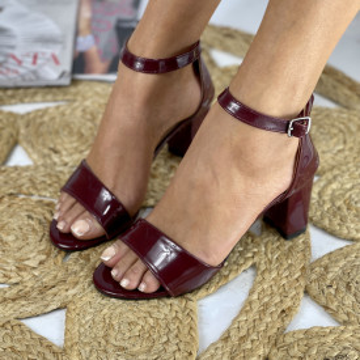 Sandale cu toc Ada Grena