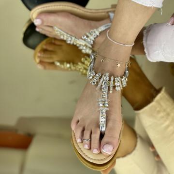 Sandale Sedat Argintii