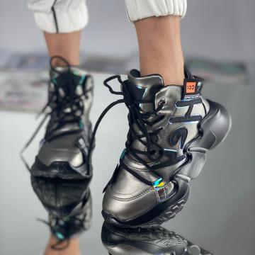Sneakersi Dama Hey Gri