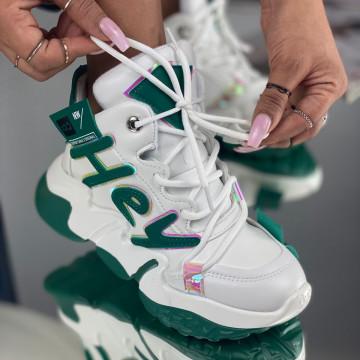 Sneakersi Dama Hey Verzi
