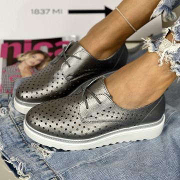 Pantofi Casual Anisia Gri