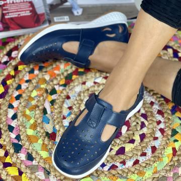Pantofi Casual Anura Bleumarin