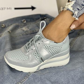 Pantofi Casual Bemos Albastrii