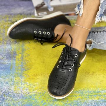 Pantofi Casual Dora Negri