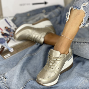 Pantofi Casual Simover Aurii
