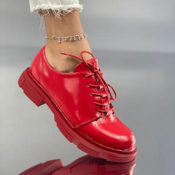 Pantofi Dama Casual Lionele Rosii
