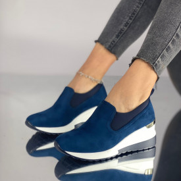 Pantofi Dama Casual Mareta Bleumarin