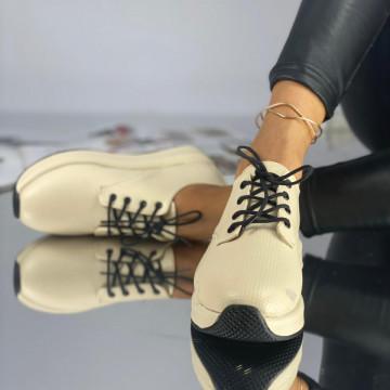 Pantofi Dama Casual Perota Bej