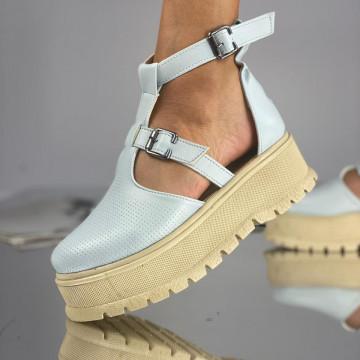 Pantofi Dama Casual Puris Albastrii