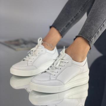 Pantofi Dama Casual Semus Albi