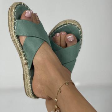 Papuci Laran Verzi