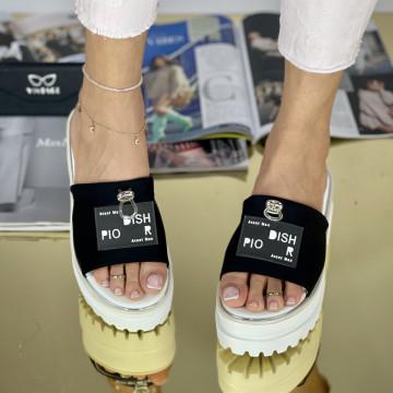 Papuci Merva Negri