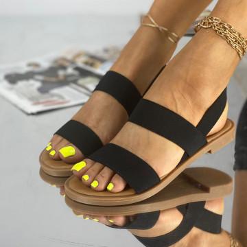 Sandale Fara Toc Lokes Negre