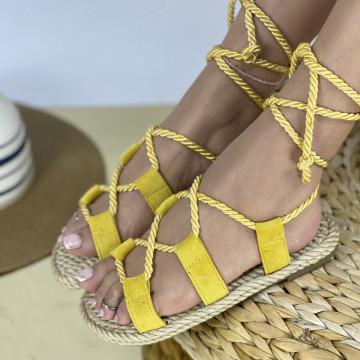 Sandale Kiros Galbene