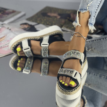 Sandale Supira Negre