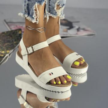Sandale Torida Albe