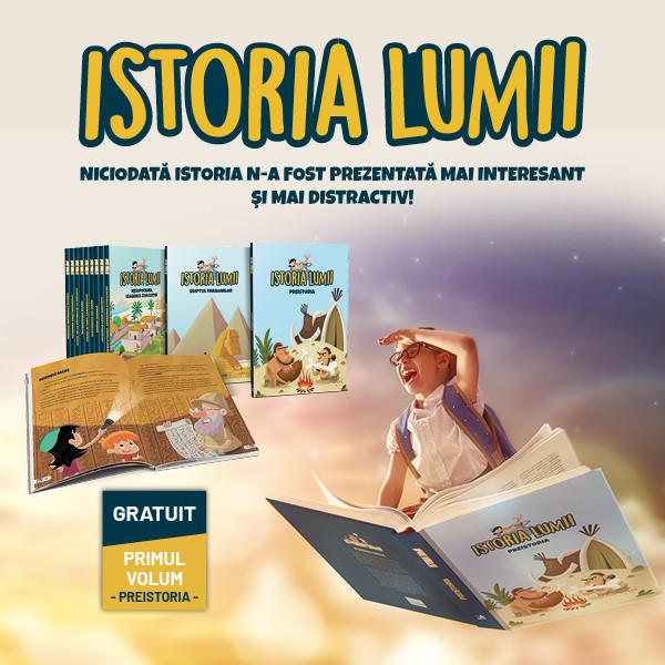"""Nou: """"Istoria pentru copii"""", cărțile cu povești și ilustrații care le vorbesc copiilor despre episoade importante din istoria lumii"""