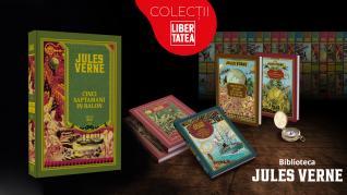"""Cărți de Jules Verne: oferă-i copilului doza de aventură cu """"Cinci săptămâni în balon""""!"""
