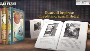 """Start la aventură cu """"Copiii Căpitanului Grant II. În Australia"""", din colecția de cărți de Jules Verne"""