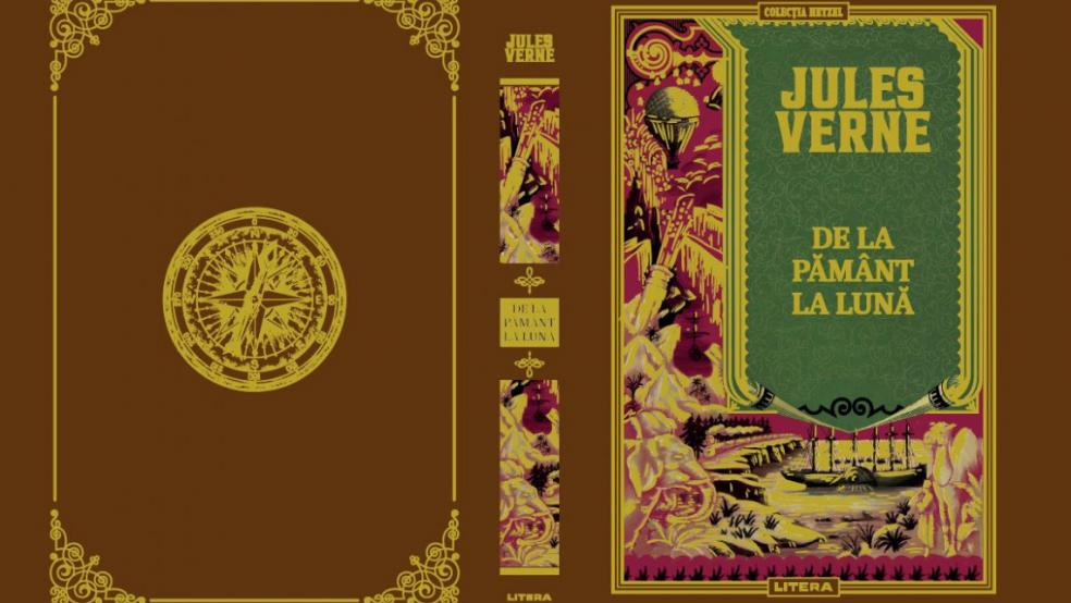 """""""De la Pământ la Lună"""", un nou roman științific din colecția Jules Verne"""