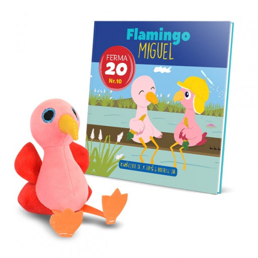 Editia nr. 10 - Flamingo Miguel (Animalutele de la ferma)